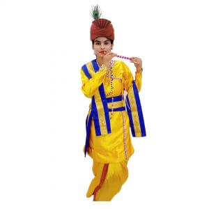 Lord Krishna Fancy dress Costume for Kids