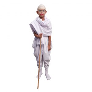 Mahatma Gandhi Bapu Freedom Fighter Kids Fancy Dress Costume