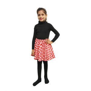 Disney Cartoon Dress – Polka Skivvy & Skirt Minnie Mouse
