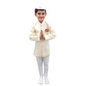 Pandit Jawaharlal Nehru Kids Fancy Dress Costume