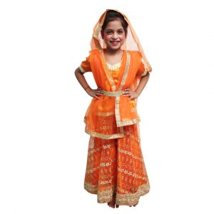 Radha Janmashtami Fancy Dress Kids Radha Costume