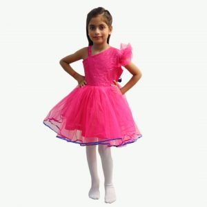 Western Dance Frock Dress – Rose Red Frock