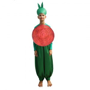 Beetroot Fancy Dress For Kids