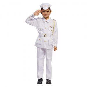 Indian Navy Dress For Kids – Fancy Costume
