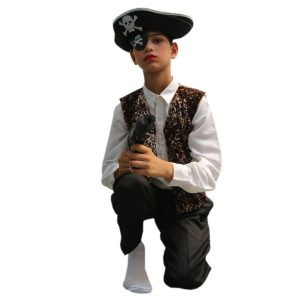 Pirate Costume – Fancy Halloween Dress For Kids
