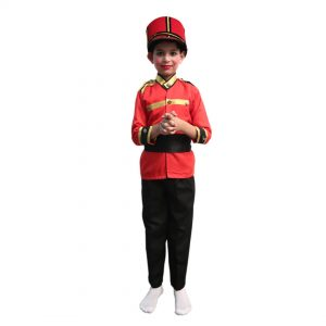 British Soldier Costume for Boys – Kids Fancy Dress