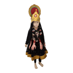 Kali Mata Hindu Goddess Girls Kids Fancy Dress Costume