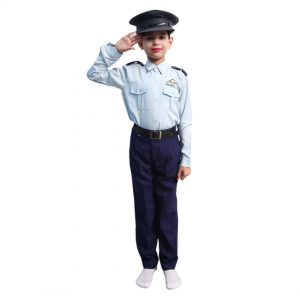 Indian Air Force Dress – Kids Fancy Costume
