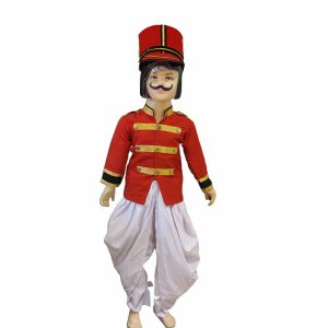 Mangal Pandey Sepoy Costume For Kids