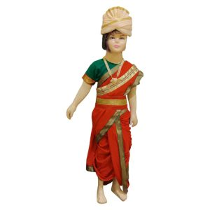 Rani Lakshmi Bai Freedom Fighter Fancy dress Costume