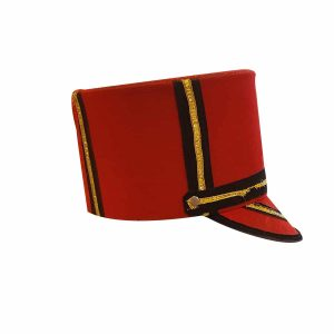 British Soldier Cap Kids Fancy dress Accessory