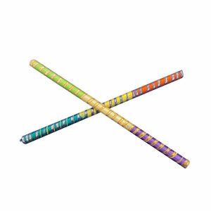 Multicolor Dandiya Sticks Pair Navratri Garba Accessory