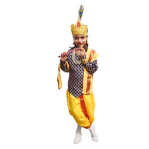 Krishna Dress For Baby Boy Janmashtami