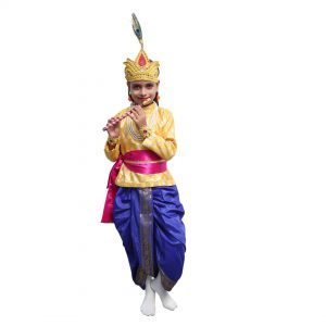 Krishna Dress Kid