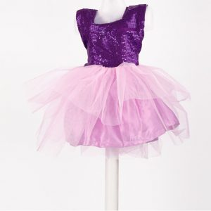 Mauve & Purple Color Dance Dress For Girls