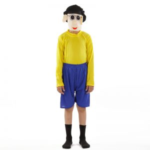 Nobita Dress – Cartoon Kids Fancy Costume For Boys