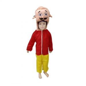 Motu Patlu Costume – Indian Cartoon Kids Fancy Dress for Boys