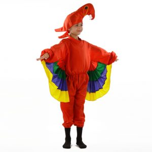 Toucan Bird Costume Multicolor – Bird Kids Fancy Dress