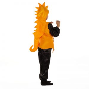Seahorse Fancy Dress – Yellow & Black Water Animal Kids Costume