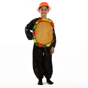 Burger Dress – Fast Food Kids Fancy Costume
