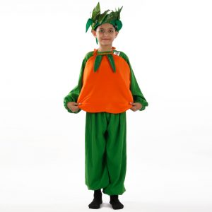 Orange Dress – Kids Fancy Costume