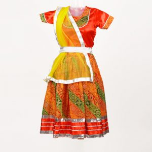 Traditional Dress of Rajasthani For Girl – Kids Fancy Costume