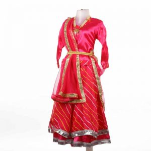 Rajasthani Traditional Dress For Girl – Kids Fancy Costume