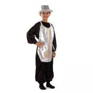Clock Non-Living Things Kids Fancy Dress Costume
