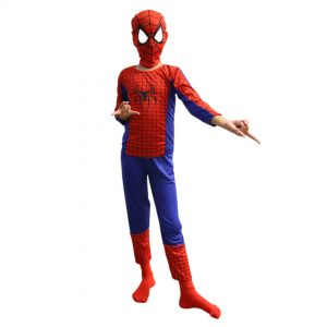 Spiderman Dress Superhero Costume For Kids