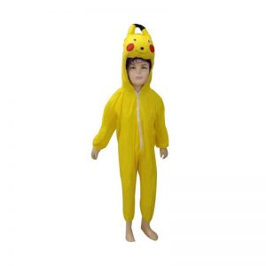 Pikachu Dress – Cartoon Kids Fancy Costume