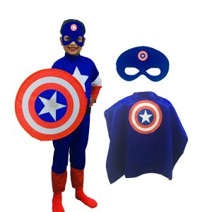 Captain America Costume Set For Kids
