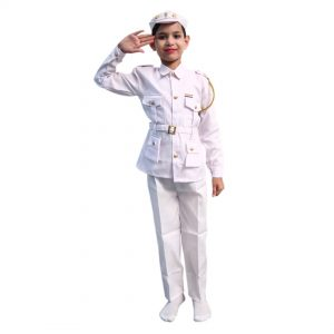 Indian Navy Dress For Kids