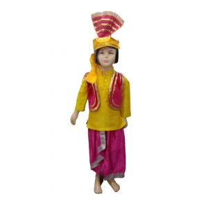 Punjabi Bhangra Folk Dance Costume For Boys & Adults Fancy Dress
