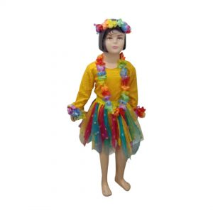 Goa Girl Dress – Indian State Fancy Dress Costume for Kids