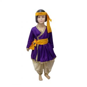 Rajasthani Boy Indian State Fancy Dress Costume For Kids & Adults
