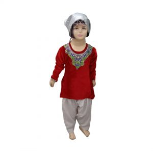 Kashmiri Girl Indian State Fancy Dress Costume For Kids & Adults