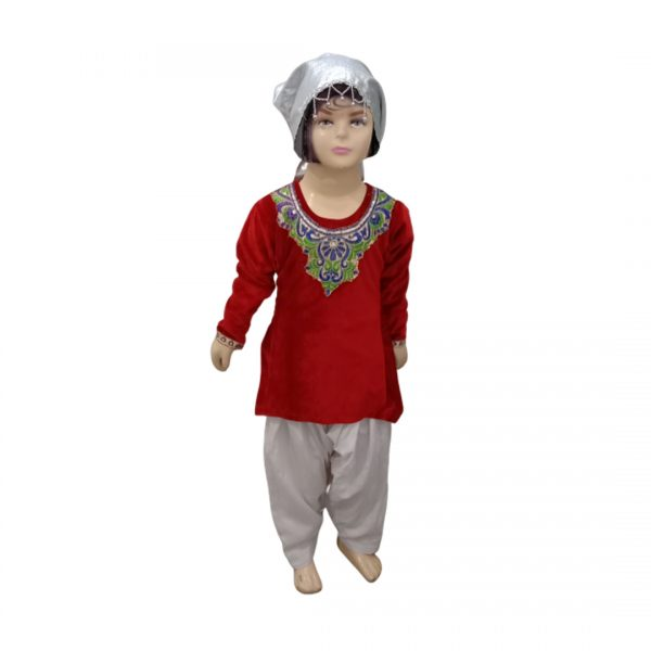 Kashmiri Costume for Girl