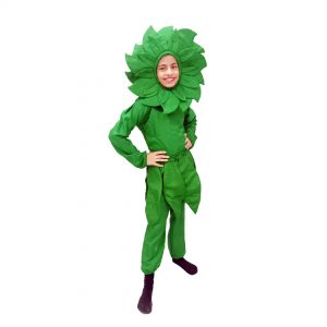 Green Flower Costume – Kids Fancy Dress
