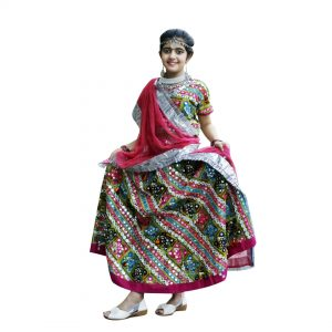 Garba Dance Costume – Festive Chaniya Choli For Girls