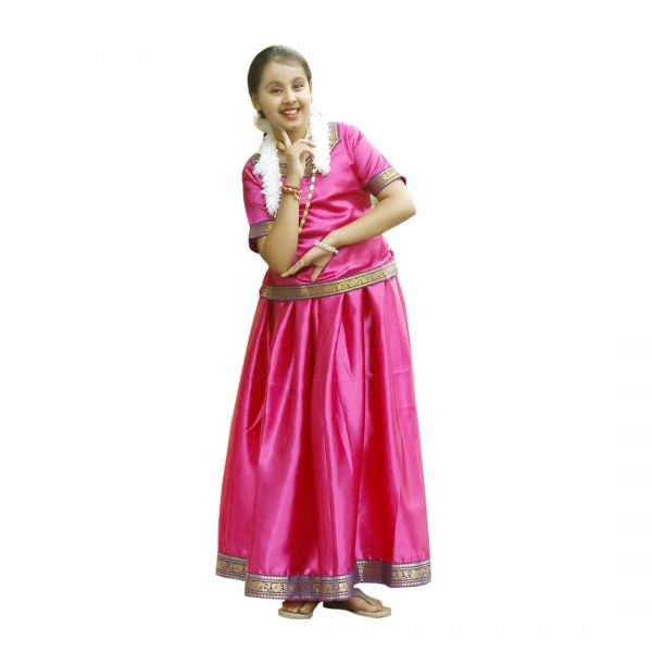 South Indian Dress For Girl
