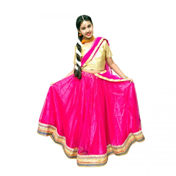 Indian Traditional Dress for Girl