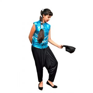 Hip-Hop & Indo Western Fusion Dance Girl Kids Fancy Dress Costume