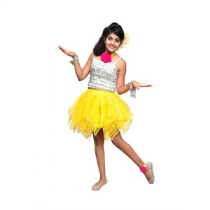 Western Dance Girl Kids Fancy Dress Costume