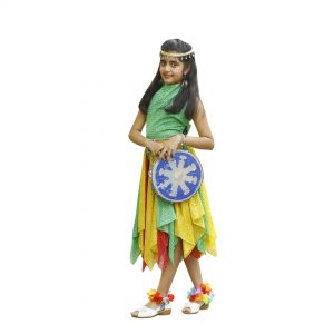 Arabian Western Dance Dress For Girl