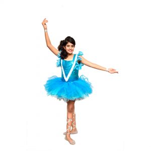 Ballet Dance Girl Western Dance Frock Fancy Dress Costume