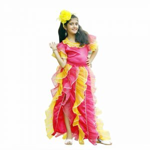 Samba Costume For Girls – Brazilian Dance