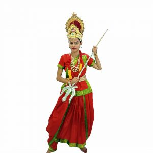 Durga Ma Indian Mythology Character Kids Fancy Dress Costume