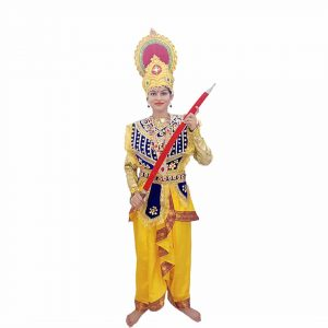 King Indian Mythology Character Kids Fancy Dress Costume