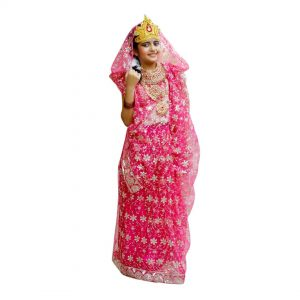 Laxmi Ma Indian Mythology Character Kids Fancy Dress Costume