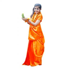 Sita Vanvasi Indian Mythology Character Kids Fancy Dress Costume